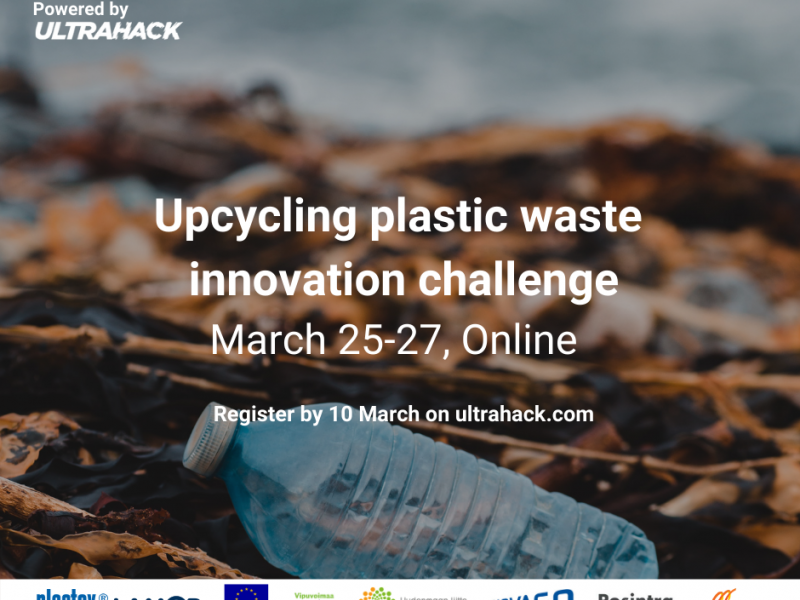 Upcycling Plastic Waste Innovation Challenge -tapahtumakuva.